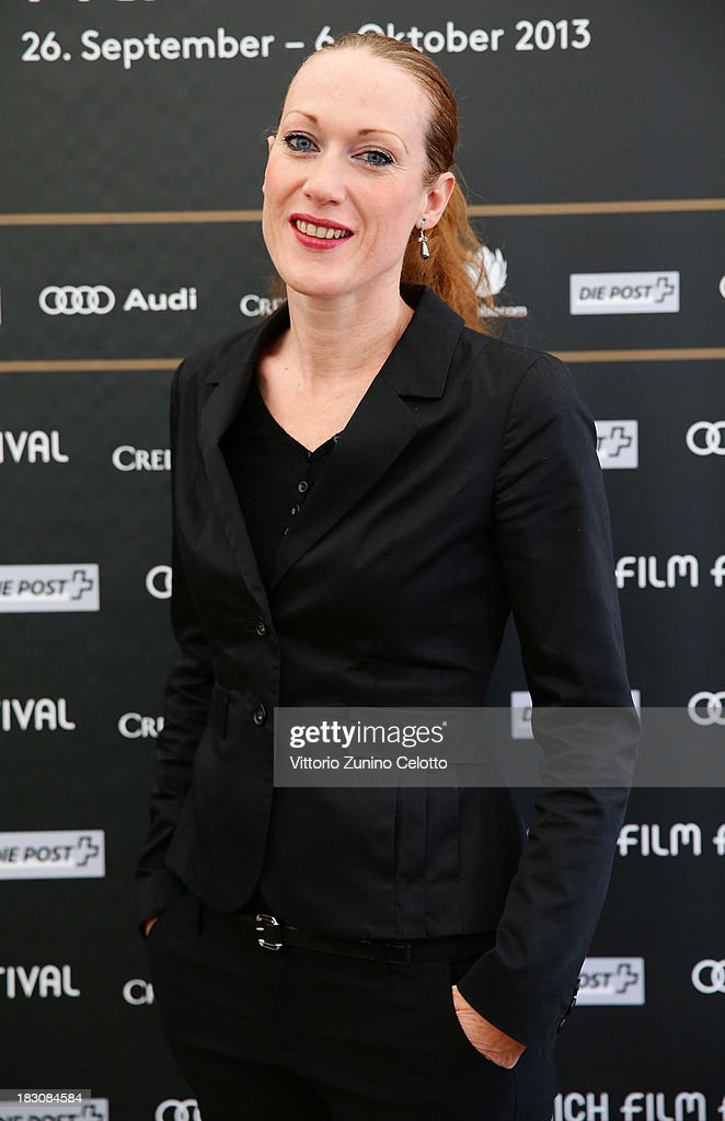 Director Tizza Covi, Documentary Competition DE, AT, CH Jury Member, attends the Jury Photocall during the Zurich Film Festival 2013 on October 4, 2013 in Zurich, Switzerland.