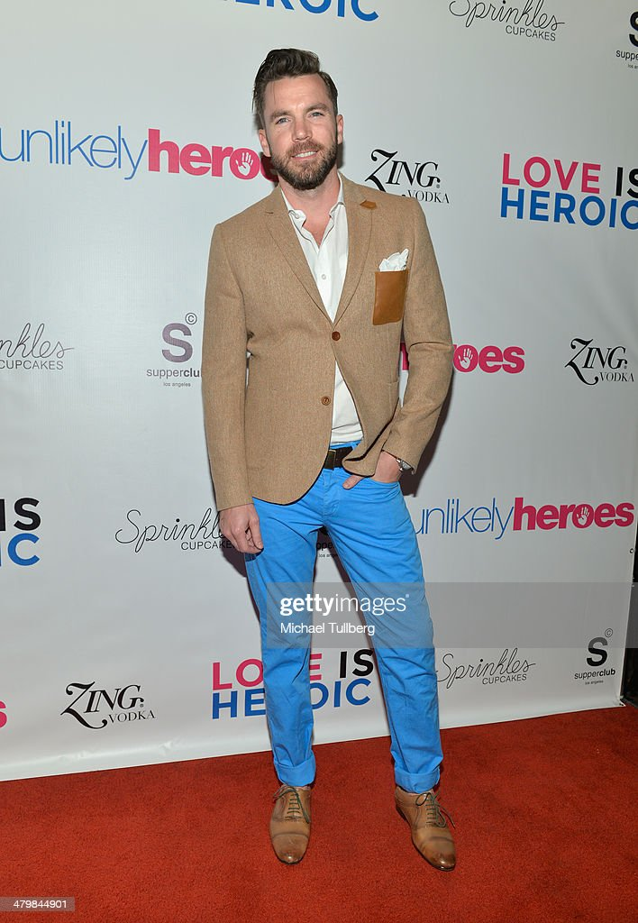 Director TK McKamy attends the Unlikely Heroes Red Carpet Spring Benefit held at SupperClub Los Angeles on March 20, 2014 in Los Angeles, California.
