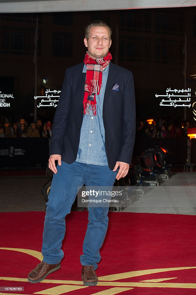 Director Tobias Lindholm poses as he arrives at the 'Ginger & Rosa' Premiere during the 12th International Marrakech Film Festival on December 7, 2012 in Marrakech, Morocco.