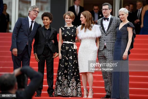 Director Todd Haynes actor Jaden Michael actresses Millicent Simmonds actress Julianne Moore screenwriter Brian Selznic and actress Michelle Williams...