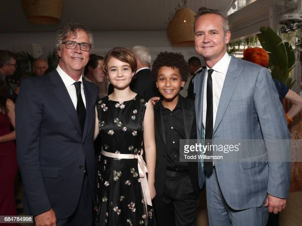 Director Todd Haynes Millicent Simmonds Jaden Michael and Head of Amazon Studios Roy Price attend the 'Wonderstruck' Cannes After Party on May 18...