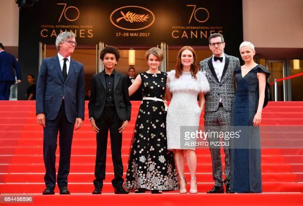 US director Todd Haynes US actor Jaden Michael US actress Millicent Simmonds US actress Julianne Moore US writer/screenwriter Brian Selznick and US...