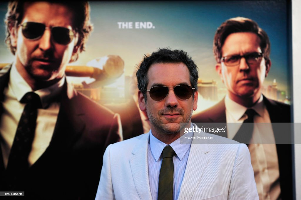 Director Todd Phillips arrives at the premiere of Warner Bros. Pictures' 'Hangover Part 3' on May 20, 2013 in Westwood, California.