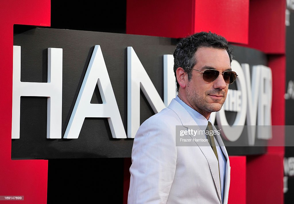 Director <a gi-track='captionPersonalityLinkClicked' href=/galleries/search?phrase=Todd+Phillips&family=editorial&specificpeople=661998 ng-click='$event.stopPropagation()'>Todd Phillips</a> attends the premiere of Warner Bros. Pictures' 'Hangover Part 3' at Westwood Village Theater on May 20, 2013 in Westwood, California.