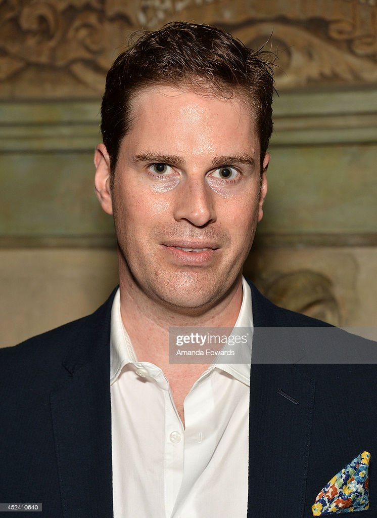 Director Tom Dolby arrives at the Water's End Productions and Gran Via Productions Film 'Last Weekend' cast dinner at Chateau Marmont on July 19, 2014 in Los Angeles, California.