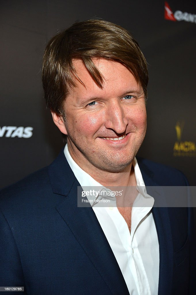Director Tom Hooper arrives at the 2ND AACTA International Awards at Soho House on January 26, 2013 in West Hollywood, California.