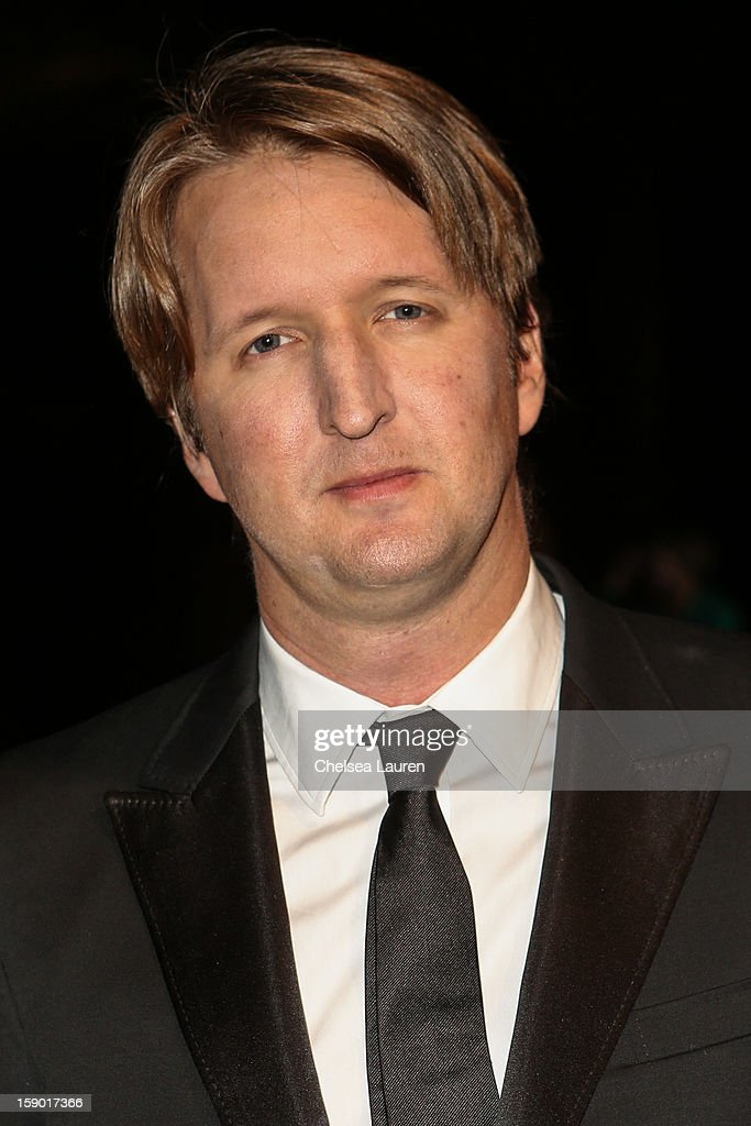 Director Tom Hooper arrives in style with Mercedes-Benz at the Palm Springs International Film Festival at the Palm Springs Convention Center on January 5, 2013 in Palm Springs, California.