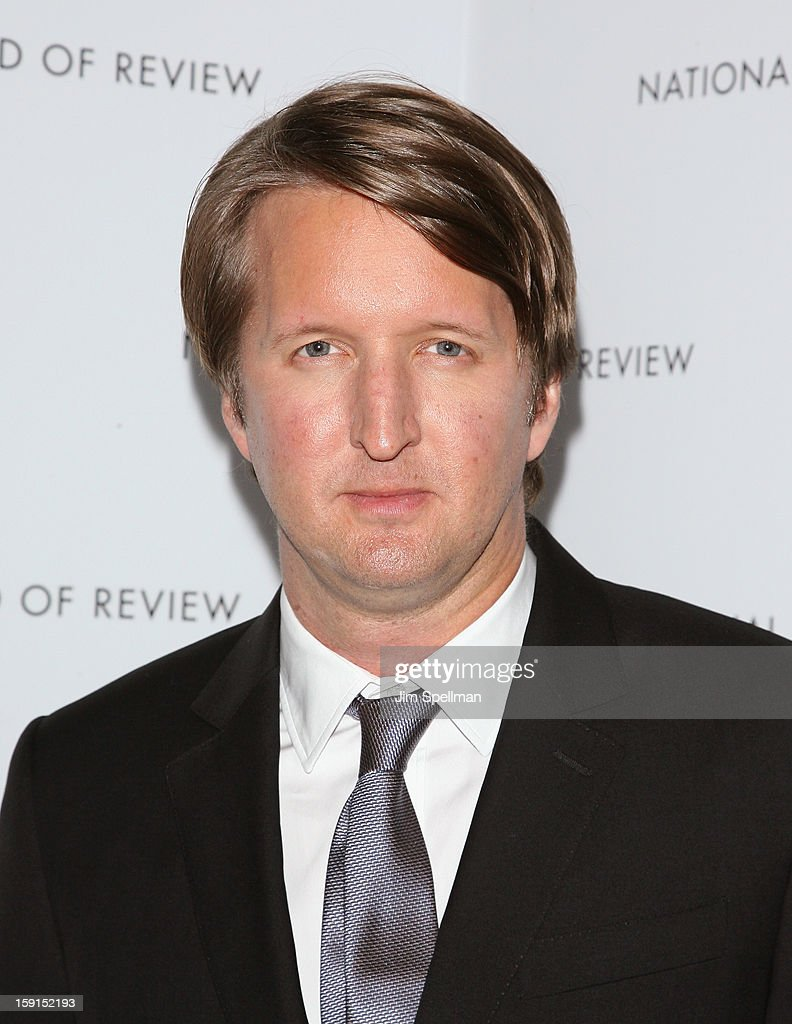 Director Tom Hooper attends the 2013 National Board Of Review Awards Gala at Cipriani Wall Street on January 8, 2013 in New York City.