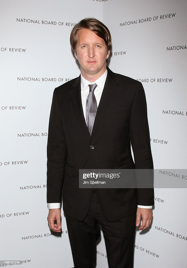 Director <a gi-track='captionPersonalityLinkClicked' href=/galleries/search?phrase=Tom+Hooper&family=editorial&specificpeople=681836 ng-click='$event.stopPropagation()'>Tom Hooper</a> attends the 2013 National Board Of Review Awards Gala at Cipriani Wall Street on January 8, 2013 in New York City.