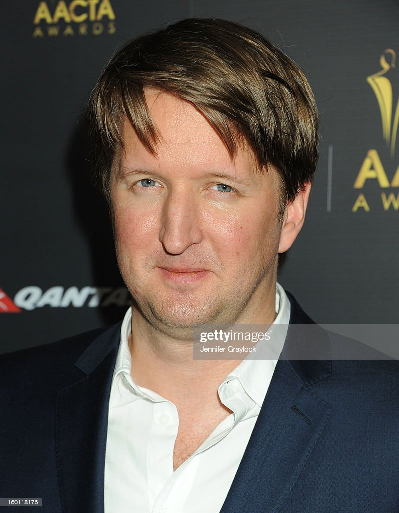 Director Tom Hooper attends the 2nd AACTA International Awards held at the Soho House on Saturday January 26, 2013 in West Hollywood, California.