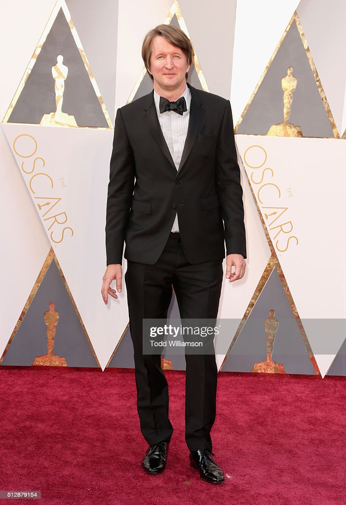 Director Tom Hooper attends the 88th Annual Academy Awards at Hollywood & Highland Center on February 28, 2016 in Hollywood, California.