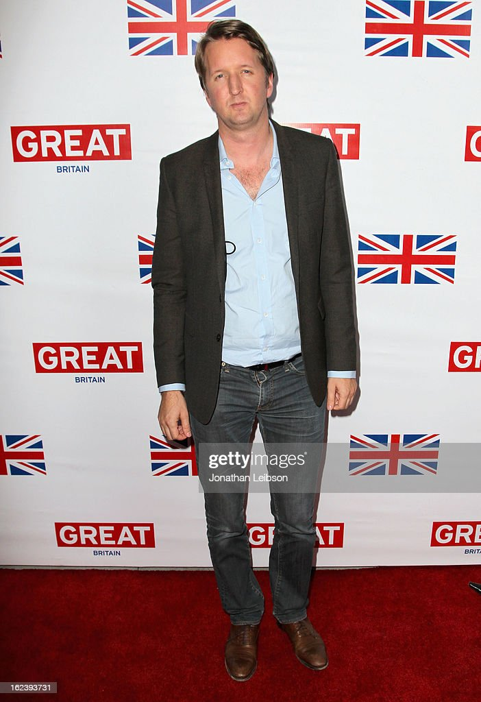 Director <a gi-track='captionPersonalityLinkClicked' href=/galleries/search?phrase=Tom+Hooper&family=editorial&specificpeople=681836 ng-click='$event.stopPropagation()'>Tom Hooper</a> attends the GREAT British Film Reception at British Consul General's Residence on February 22, 2013 in Los Angeles, California.