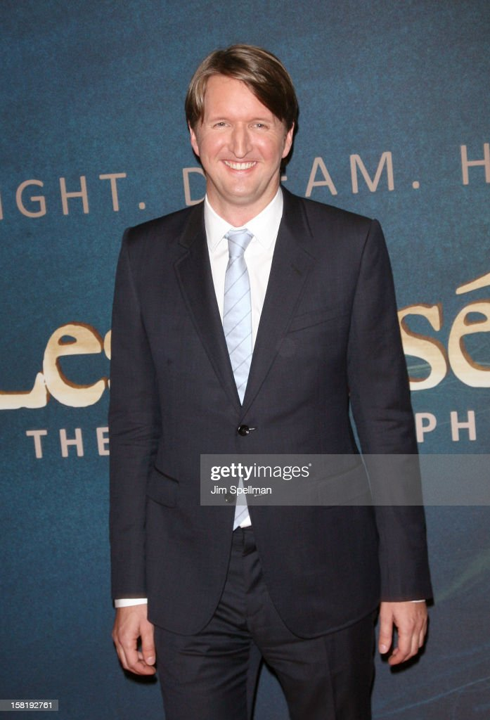 Director Tom Hooper attends the 'Les Miserables' New York Premiere at Ziegfeld Theatre on December 10, 2012 in New York City.