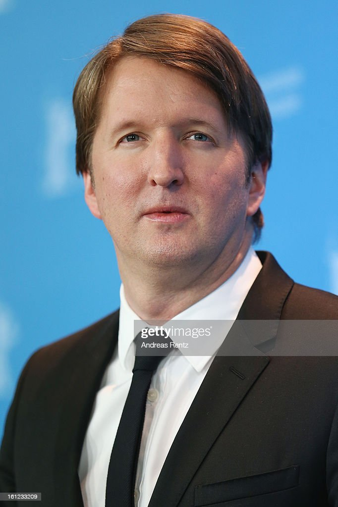 Director <a gi-track='captionPersonalityLinkClicked' href=/galleries/search?phrase=Tom+Hooper&family=editorial&specificpeople=681836 ng-click='$event.stopPropagation()'>Tom Hooper</a> attends the 'Les Miserables' Photocall during the 63rd Berlinale International Film Festival at Grand Hyatt Hotel on February 9, 2013 in Berlin, Germany.