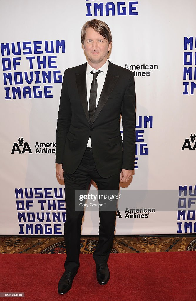 Director Tom Hooper attends the Museum Of Moving Image Salute To Hugh Jackman at Cipriani Wall Street on December 11, 2012 in New York City.