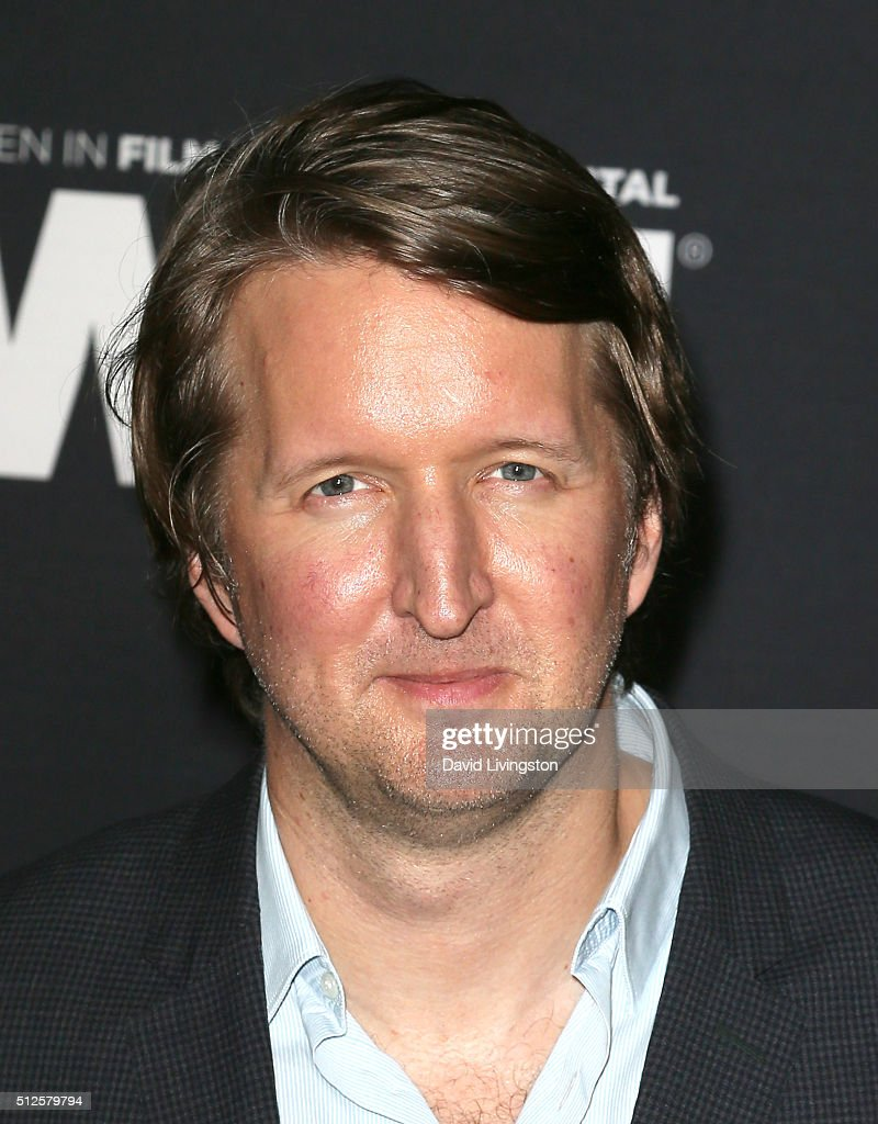 Director <a gi-track='captionPersonalityLinkClicked' href=/galleries/search?phrase=Tom+Hooper&family=editorial&specificpeople=681836 ng-click='$event.stopPropagation()'>Tom Hooper</a> attends the Ninth Annual Women In Film Pre-Oscar Cocktail Party Presented By Max Mara, BMW, M-A-C Cosmetics And Perrier-Jouet at HYDE Sunset: Kitchen + Cocktails on February 26, 2016 in West Hollywood, California.