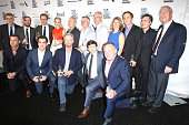 Director Tom McCarthy and the winning cast and crew of the Robert Altman Award for 'Spotlight' pose in the press room during the 2016 Film...