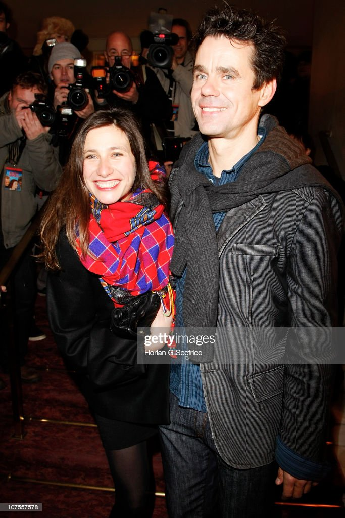 Director Tom Tykwer and Marie Steinmann attend the premiere of 'Drei' at Delphi on December 13 2010 in Berlin Germany