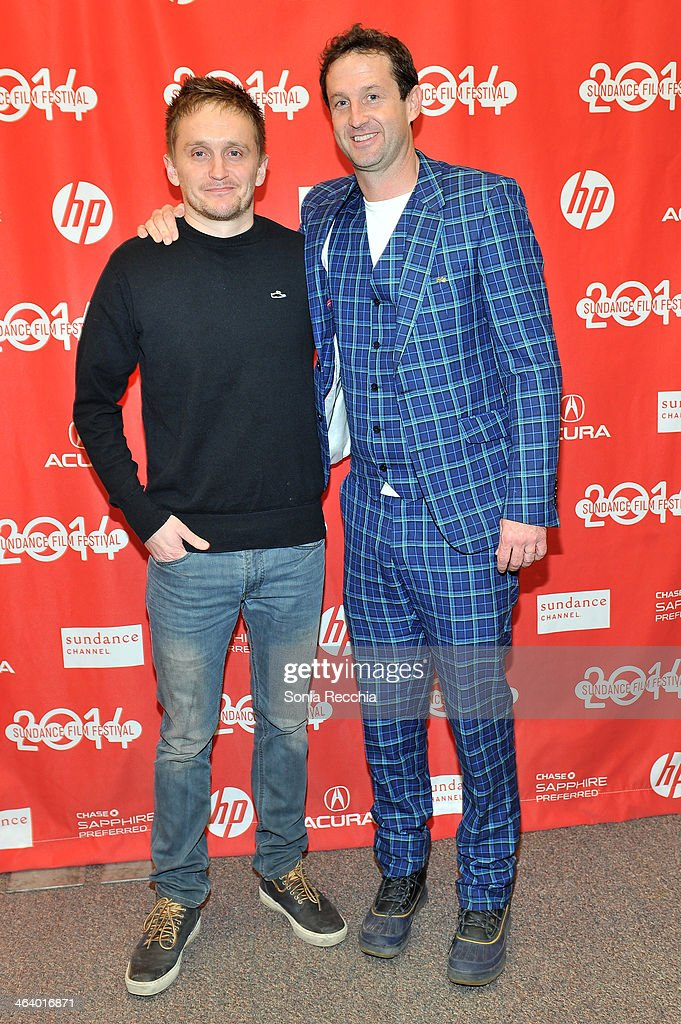 Director Tommy Wirkola (L) and Sundance Film Festival drector of programming Trevor Groth attend the 'Dead Snow; Red vs. Dead' premiere at Library Center Theater during the 2014 Sundance Film Festival on January 19, 2014 in Park City, Utah.