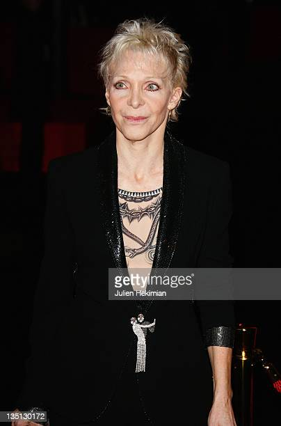 Director Tonie Marshall arrives at the Cesar Film Awards 2009 at the Theatre du Chatelet on February 27 2009 in Paris France