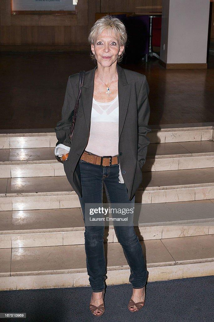 Director Tonie Marshall attends 'Alias Caracalla' Paris Premiere at Cinema l'Arlequin on April 25, 2013 in Paris, France.