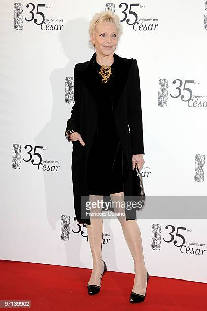 Director Tonie Marshall attends the 35th Cesar Film Awards held at Theatre du Chatelet on February 27 2010 in Paris France