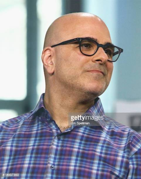 Director Tony Leondis attends Build to discuss their new movie 'The Emoji Movie' at Build Studio on July 19 2017 in New York City