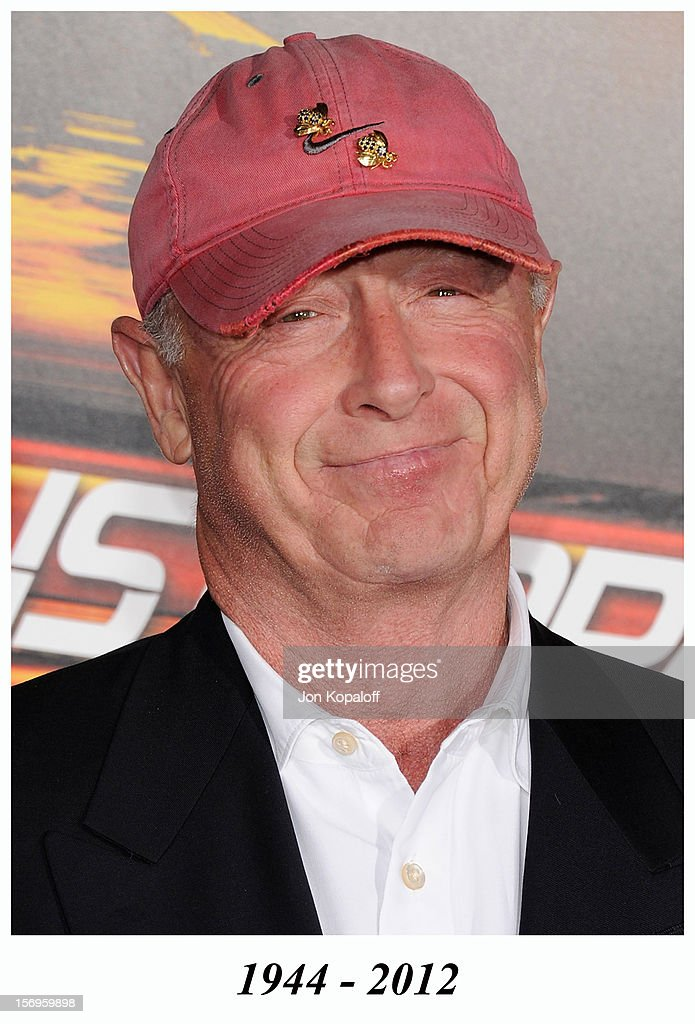 Director Tony Scott arrives at the Los Angeles Premiere 'Unstoppable' at Regency Village Theatre on October 26, 2010 in Westwood, California. Tony Scott died in 2012.