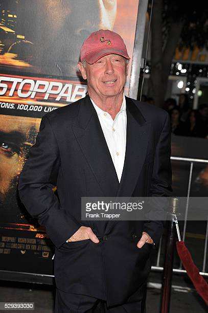 Director Tony Scott arrives at the premiere of 'Unstoppable' held at the Regency Village Theater in Westwood