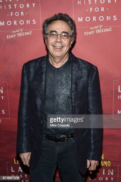 Director Tony Taccone attends 'Latin History For Morons' Broadway Opening Night at Studio 54 on November 15 2017 in New York City