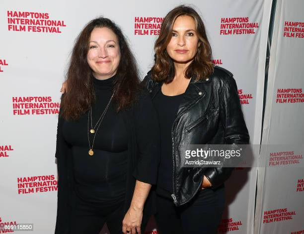 Director Trish Adlesic and Producer Mariska Hargitay attend the red carpet for 'I Am Evidence' during Hamptons International Film Festival 2017 Day...