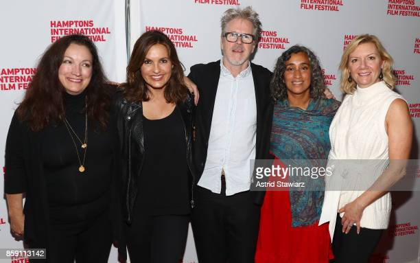 Director Trish Adlesic Producer Mariska Hargitay Director Jim McKay Director Geeta Gandbhir and Executive Director at Hamptons International Film...