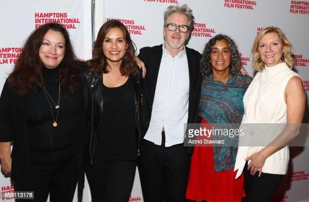 Director Trish Adlesic Producer Mariska Hargitay Director Jim McKay Director Geeta Gandbhir and Executive Director at Hamptons International Film...