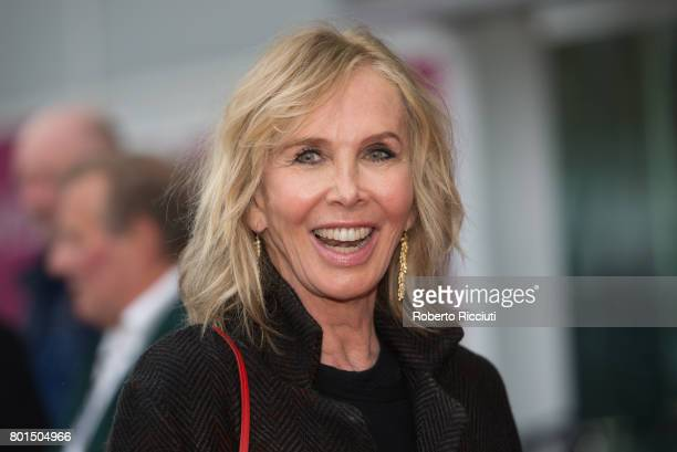Director Trudie Styler attends a photocall for the European Premiere of 'Freak Show' during the 71st Edinburgh International Film Festival at...