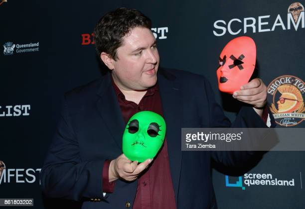 Director Tyler MacIntyre attends the 2017 Screamfest Horror Film Festival at TCL Chinese 6 Theatres on October 15 2017 in Hollywood California