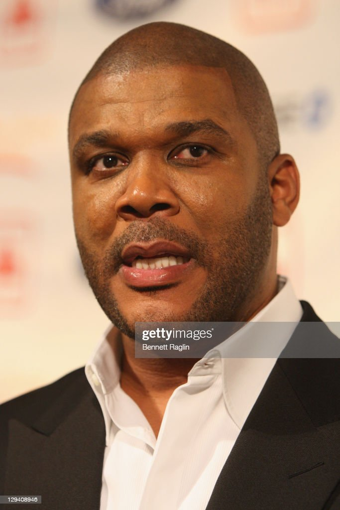 Director Tyler Perry attends the 2nd annual Steve Harvey Foundation gala at Cipriani Wall Street on April 4 2011 in New York City