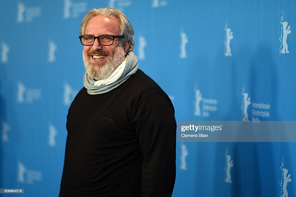Director Udi Aloni attends the 'Junction 48' photo call during the 66th Berlinale International Film Festival Berlin at Grand Hyatt Hotel on February 13, 2016 in Berlin, Germany.