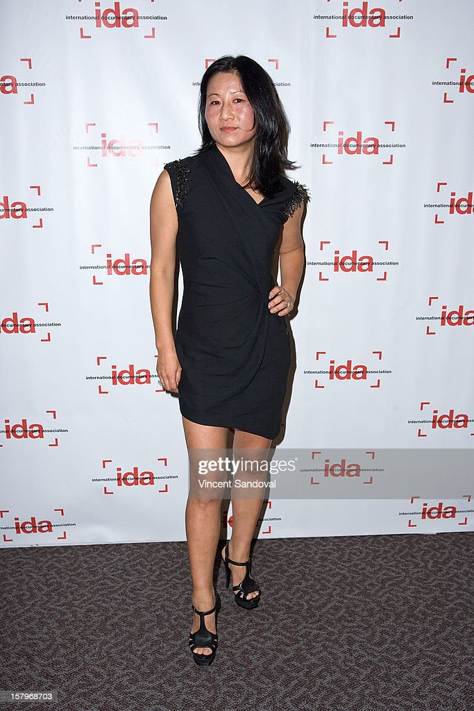 Director Unjoo Moon attends the 2012 IDA Documentary Awards at Directors Guild Of America on December 7, 2012 in Los Angeles, California.
