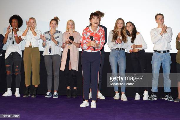 Director Ute Wieland attends the 'Tigermilch' premiere at Kino in der Kulturbrauerei on August 15 2017 in Berlin Germany