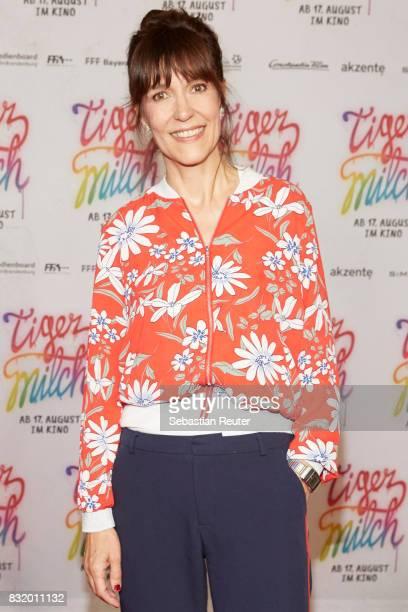 Director Ute Wielandattends the 'Tigermilch' premiere at Kino in der Kulturbrauerei on August 15 2017 in Berlin Germany