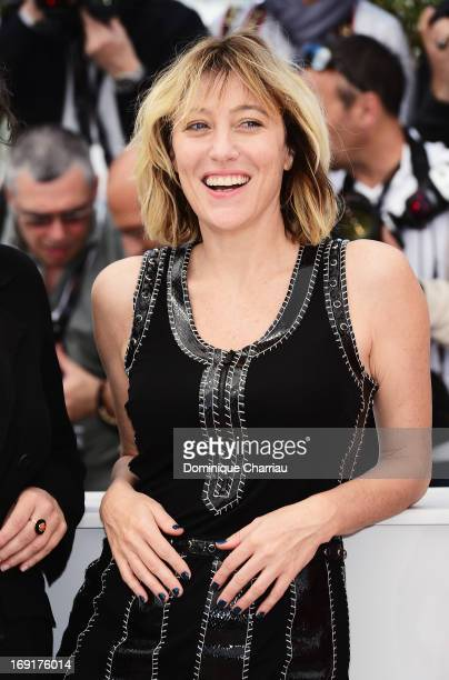 Director Valeria Bruni Tedeschi attends the photocall for 'Un Chateau En Italie' during The 66th Annual Cannes Film Festival at Palais des Festivals...
