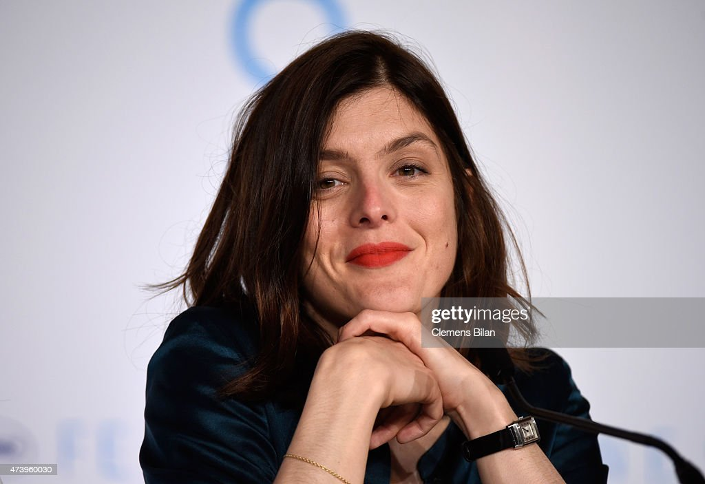 Director Valerie Donzelli attends the 'Marguerite And Julien' press conference during the 68th annual Cannes Film Festival on May 19 2015 in Cannes...