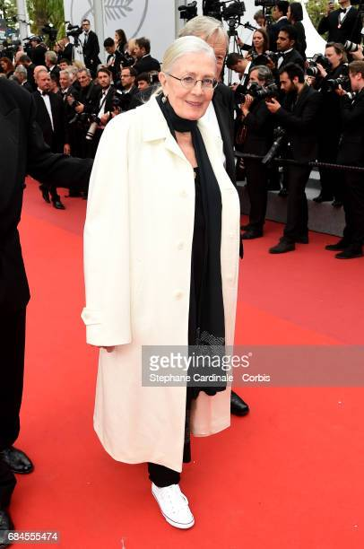 Director Vanessa Redgrave of ''Sea Sorrow'' attends the 'Loveless ' screening during the 70th annual Cannes Film Festival at Palais des Festivals on...