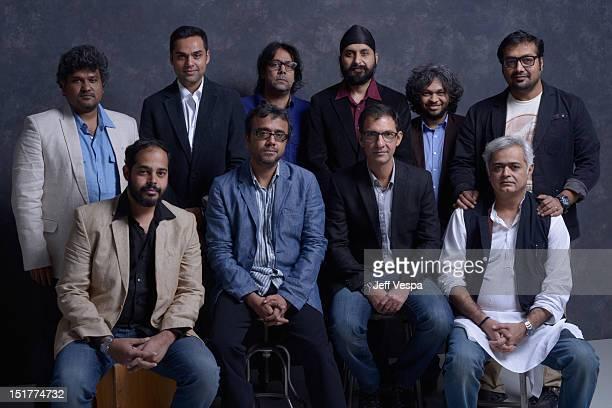 Director Vasan Bala actor Abhay Deol directors Ashim Ahluwalia Manjeet Singh Anand Gandhi and Anurag Kashyap Directors Mohit Takalkar Dibakar...