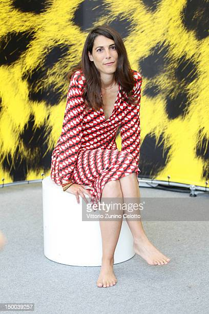 Director Verena Paravel attends 'Leviathan' photocall during the 65th Locarno Film Festival on August 9 2012 in Locarno Switzerland