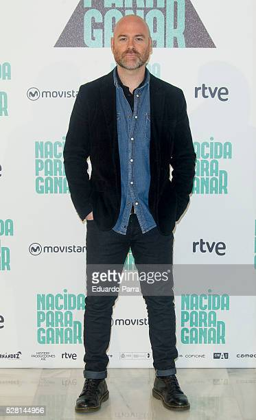 Director Vicente Villanueva attends the 'Nacida para ganar' photocall at Eurobuilding hotel on May 04 2016 in Madrid Spain