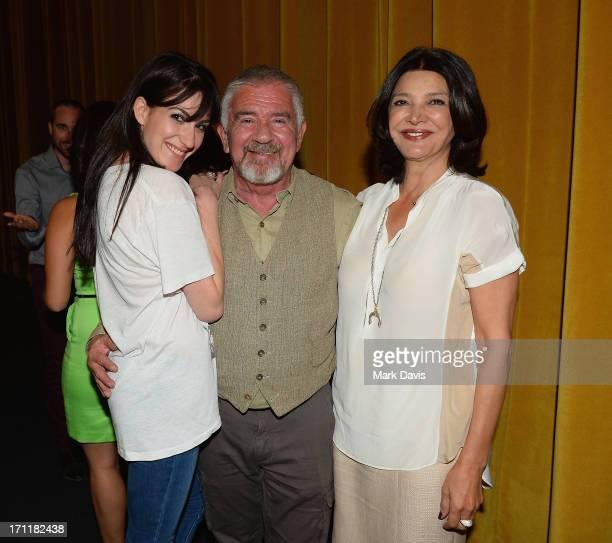 Director Virginia Cassavetes Executive Director at Palm Springs International Film Festivals Darryl Macdonald and actress Shohreh Aghdashloo attend...