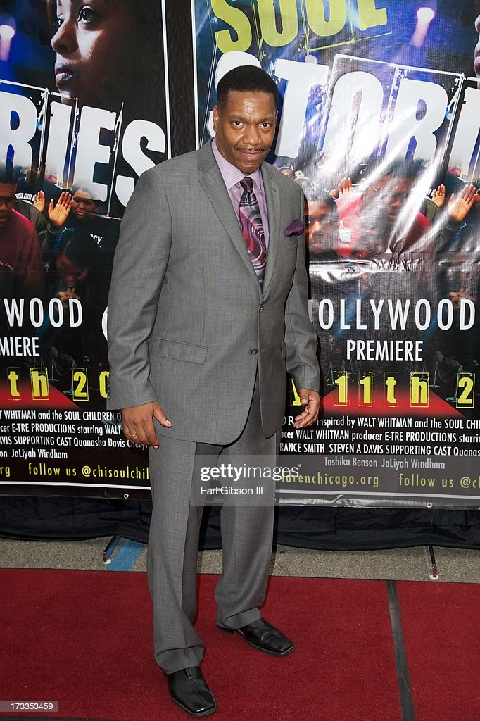 Director Walt Whitman attends the premiere of his movie 'Soul Children Of Chicago' at Historic American Legion - Post 43 on July 11, 2013 in Los Angeles, California.