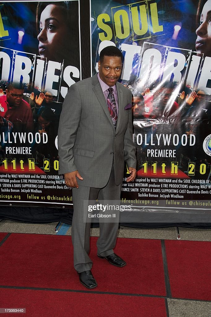 Director Walt Whitman attends the premiere of 'Soul Children Of Chicago' at Historic American Legion - Post 43 on July 11, 2013 in Los Angeles, California.