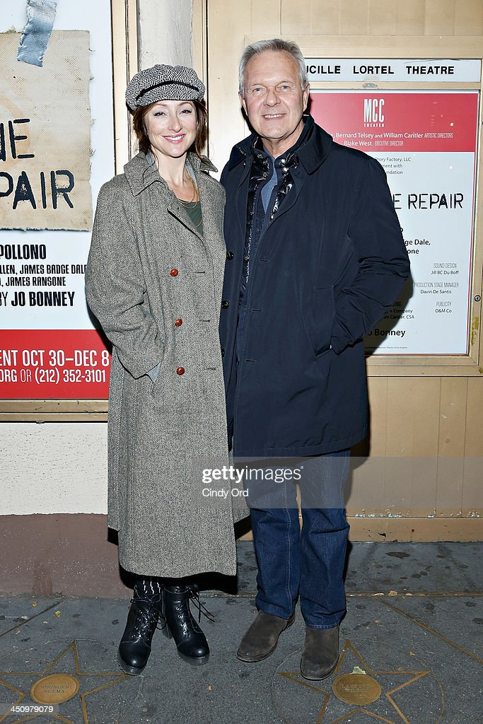 Director Walter Bobbie attends the 'Small Engine Repair' Opening Night at Lucille Lortel Theatre on November 20 2013 in New York City